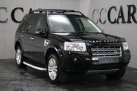 USED 2010 10 LAND ROVER FREELANDER 2.2 TD4 HSE 5d AUTO 159 BHP Black Full Leather Heated Seats, HDD Satellite Navigation + Bluetooth Connectivity, Factory Fitted Land Rover Side Steps, Front and Rear Park Distance Control, Electric Twin Sunroofs, Leather Multi Function Steering Wheel, Automatic Headlights, Cruise Control, Privacy Glass, Dual Zone Climate Control, Towbar + Twin Electrics,