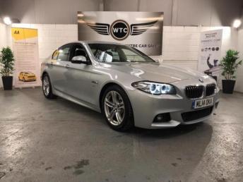 2014 BMW 5 SERIES 2.0 SALOON 525D M SPORT £11995.00