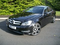 USED 2013 13 MERCEDES-BENZ C CLASS 1.6 C180 BLUEEFFICIENCY AMG SPORT PLUS 2d AUTO 154 BHP Beautiful Eye Catching Example, High Specification, JUST 32,000 Miles with Full Service History!!!