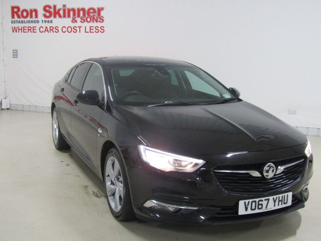 View our 2017 67 VAUXHALL INSIGNIA 1.5 GRAND SPORT SRI NAV 5d 163 BHP with Rear View Cam + 18in Alloys + Wireless Charger for Mobiles