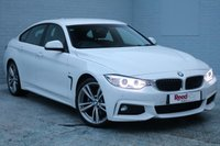 USED 2015 65 BMW 4 SERIES 2.0 420D M SPORT GRAN COUPE 4d AUTO 188 BHP 1 OWNER + FULL BMW HISTORY + NAV + PROFESSIONAL MEDIA + PARKING SENSORS + 19'S ALLOYS