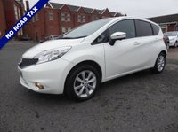 USED 2014 63 NISSAN NOTE 1.2 DIG-S Acenta Premium (Comfort Pack) 5dr Free Road Tax!