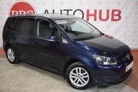 USED 2014 VOLKSWAGEN TOURAN 1.6 SE TDI BLUEMOTION TECHNOLOGY 5d 103 BHP