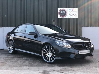2015 MERCEDES-BENZ E-CLASS 3.0 E350 BLUETEC AMG NIGHT ED PREMIUM PLUS 4d AUTO 255 BHP £20900.00
