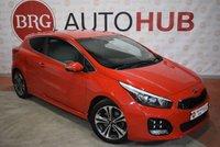 USED 2016 KIA PRO CEED 1.6 CRDI GT-LINE ISG 3d AUTO 134 BHP