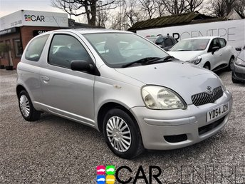 View our 2004 54 TOYOTA YARIS 1.0 T3 VVT-I 3d 64 BHP