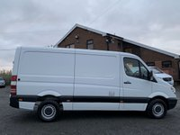 USED 2012 61 MERCEDES-BENZ SPRINTER 2.1 313 CDI MWB LOW ROOF MWB, LOW ROOF, ONE OWNER, PLY LINED, 3 SEATER, TIDY VAN