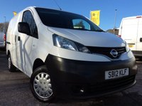 USED 2012 12 NISSAN NV200 SWB 1.5 SE DCI 1d 89 BHP FSH MOT FREE 6 MONTH AA WARRANTY INCLUDING RECOVERY AND ASSIST NEW MOT SPARE KEY TWIN SIDE LOADING DOORS ELECTRIC WINDOWS AND MIRRORS BLUETOOTH