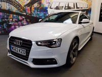 2014 AUDI A5 2.0 TDI QUATTRO S LINE BLACK EDITION S/S 2d 174 BHP £17494.00