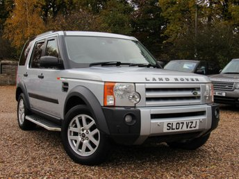 2007 LAND ROVER DISCOVERY 2.7 3 TDV6 SE 5d 188 BHP £7490.00