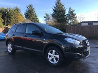 2010 NISSAN QASHQAI+2 1.6 VISIA PLUS 2 5d 117 BHP  WITH FULL NISSAN SERVICE HISTORY £7000.00
