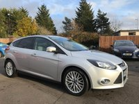 2012 FORD FOCUS 1.6 TDCI ZETEC 5dr  WITH APPEARANCE PACK, PRIVACY GLASS, ALLOYS £5500.00