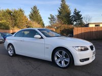 USED 2009 09 BMW 3 SERIES 2.0 320D SE HIGHLINE 2d 175 BHP ELECTRIC HARDTOP CONVERTIBLE ROOF NO DEPOSIT  FINANCE ARRANGED, APPLY HERE NOW