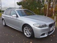 2012 BMW 5 SERIES 2.0 520D M SPORT TOURING 5d AUTO 181 BHP £11390.00