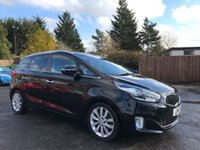 2014 KIA CARENS 1.7 3 SAT NAV ECODYNAMICS CRDI 5d 134 BHP 7 SEAT'S WITH REMAINING KIA WARRANTY £9500.00