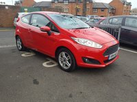 USED 2014 14 FORD FIESTA 1.0 ZETEC 3d 99 BHP ONLY 12474 MILES!...EXCEPTIONALLY CHEAP TO RUN, LOW CO2 EMISSIONS, £0 ROAD TAX AND EXCELLENT FUEL ECONOMY! EXCELLENT SPECIFICATION INCLUDING AIR CONDITIONING, FRONT HEATED WINDSCREEN, ALLOY WHEELS, AND AUXILLIARY/USB INPUT!