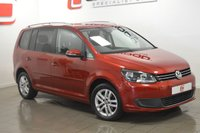 USED 2012 61 VOLKSWAGEN TOURAN 2.0 SE TDI 5d 7 SEATS 142 BHP LOW MILES + FULL VW HISTORY + PRIVACY GLASS + FINANCE AVAILABLE