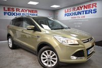 USED 2015 65 FORD KUGA 2.0 TITANIUM TDCI 5d 148 BHP DAB Radio, Bluetooth, Cruise control, Half Leather interior, Park sensors