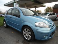 USED 2008 08 CITROEN C3 1.6 EXCLUSIVE PLUS 5d RARE AUTO 110 BHP 7 SERVICE STAMPS