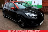 USED 2015 15 RENAULT CAPTUR 1.5 DYNAMIQUE S MEDIANAV ENERGY DCI S/S 5d 90 BHP +ONE OWNER +FREE TAX +FSH.