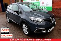 USED 2015 65 RENAULT CAPTUR 0.9 DYNAMIQUE NAV TCE 5d 90 BHP +ONE OWNER +LOW TAX +FSH.