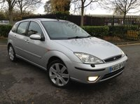 USED 2003 03 FORD FOCUS 1.6 GHIA 5d 99 BHP