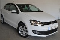 2013 VOLKSWAGEN POLO 1.2 MATCH EDITION 5d 59 BHP £7187.00