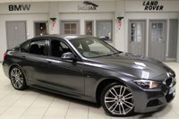 USED 2015 64 BMW 3 SERIES 2.0 320D M SPORT 4d AUTO 181 BHP full bmw service history FULL BLACK LEATHER SEATS + FULL BMW SERVICE HISTORY + PRO SATELLITE NAVIGATION + £30 ROAD TAX + XENON HEADLIGHTS + BLUETOOTH + 18 INCH ALLOYS + HEATED FRONT SEATS + CRUISE CONTROL + DAB RADIO + PARKING SENSORS + AIR CONDITIONING