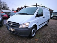 USED 2014 64 MERCEDES-BENZ VITO 2.1 113 CDI 6d 136 BHP 6 MONTH RAC WARRANTY- 12 MONTH RAC BREAKDOWN COVER