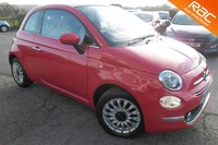 USED 2015 65 FIAT 500 1.2 C LOUNGE 3d 69 BHP VIEW AND RESERVE ONLINE OR CALL 01527-853940 FOR MORE INFO.
