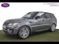 2015 LAND ROVER RANGE ROVER SPORT 3.0 SDV6 HSE DYNAMIC 5d AUTO 288 BHP £40995.00