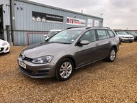 2014 VOLKSWAGEN GOLF 1.6 SE TDI BLUEMOTION TECHNOLOGY 5d 103 BHP £6490.00