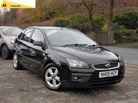 USED 2005 05 FORD FOCUS 1.6 ZETEC CLIMATE 5d 116 BHP FULL BLACK LEATHER RECARO SPORTS SEATS FRONT AND REAR, LONG MOT, READY TO BE DRIVEN AWAY TODAY!