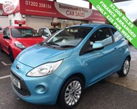 USED 2010 10 FORD KA 1.2 ZETEC 3d 69 BHP *ONLY 53,000 MILES*