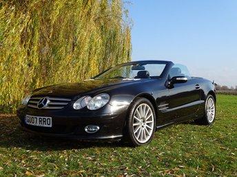 2007 MERCEDES-BENZ SL 3.5 SL350 2d AUTO 272 BHP £9995.00