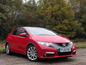 2012 HONDA CIVIC 1.8 I-VTEC EX GT 5d AUTO 140 BHP £10000.00