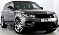 "USED 2014 14 LAND ROVER RANGE ROVER SPORT 3.0 SD V6 HSE Dynamic 4X4 (s/s) 5dr Pan Roof, 21""s, Black Pack +"