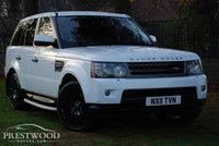USED 2011 11 LAND ROVER RANGE ROVER SPORT 3.0 TDV6 HSE [COMMANDSHIFT] AUTO [245 BHP]