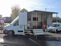 2012 RENAULT MASTER 2.3DCI ML35 125 BHP EXHIBITION DISPLAY MOBILE OFFICE UNIT £13995.00