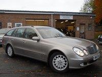 2003 MERCEDES-BENZ E CLASS 2.1 E220 CDI ELEGANCE 5d AUTO 150 BHP £3995.00