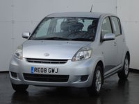 USED 2008 08 DAIHATSU SIRION 1.3 SE 5d 85 BHP RARE AUTO GEARBOX, ELECTRIC PACK, REAR PARKING SENSORS