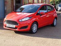 USED 2014 64 FORD FIESTA 1.5 STYLE TDCI 5d 74 BHP