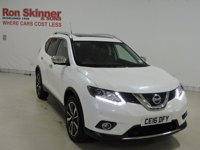 View our 2016 16 NISSAN X-TRAIL 1.6 DCI TEKNA 5d 130 BHP