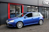 USED 2008 57 VOLKSWAGEN GOLF 3.2 R32 DSG 5d AUTO 250 BHP SAT NAV*AUTO*HEATED LEATHERS*FSH*LAST LADY OWNER FOR 6 YEARS**MOT TILL FEBUARY 2019*BEST COLOUR RARE IN BLUE*EXCELLENT WELL LOOKED AFTER CAR*CAR IS STANDARD*