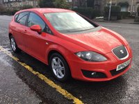 USED 2012 62 SEAT LEON 1.6 CR TDI ECOMOTIVE SE COPA 5d 103 BHP OUR  PRICE INCLUDES A 6 MONTH AA WARRANTY DEALER CARE EXTENDED GUARANTEE, 1 YEARS MOT AND A OIL & FILTERS SERVICE. 6 MONTHS FREE BREAKDOWN COVER.     CALL US NOW FOR MORE INFORMATION OR TO BOOK A TEST DRIVE ON 01315387070 !!