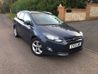 2013 FORD FOCUS 1.6 ZETEC TDCI 5d 113 BHP PLEASE CALL TO VIEW £6450.00