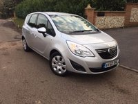2010 VAUXHALL MERIVA 1.4 EXCLUSIV 5d 98 BHP PLEASE CALL TO VIEW £3950.00