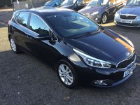 2013 KIA CEED 1.6 CRDI 2 5d AUTO 126 BHP £7400.00
