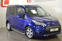 USED 2016 66 FORD TOURNEO CONNECT 1.5 TITANIUM TDCI 5d 118 BHP CHROME SIDE TUBES + FORD HISTORY+ AUTO + PAN ROOF