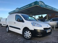 USED 2014 14 PEUGEOT PARTNER 1.6 HDI S L1 850 1d 89 BHP One Owner, Finance Arranged, Sensible Mileage.